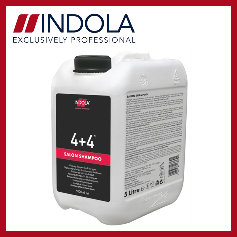 Indola 4+4 salon shampoo