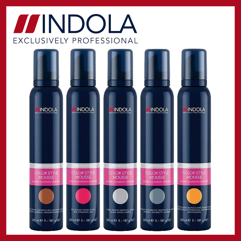 Indola Color Style Mousse Group