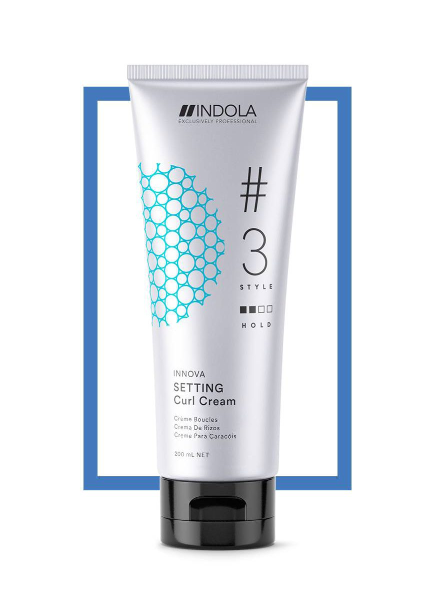 Curl Cream 150ml - Indola Styling