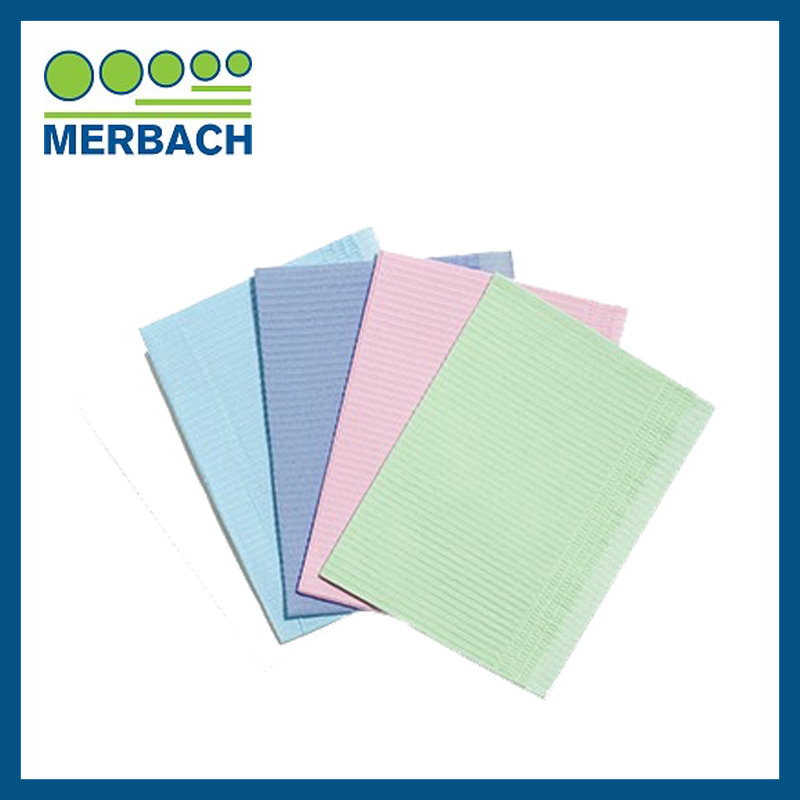 Dental Towel Merbach - Blauw 500 stuks