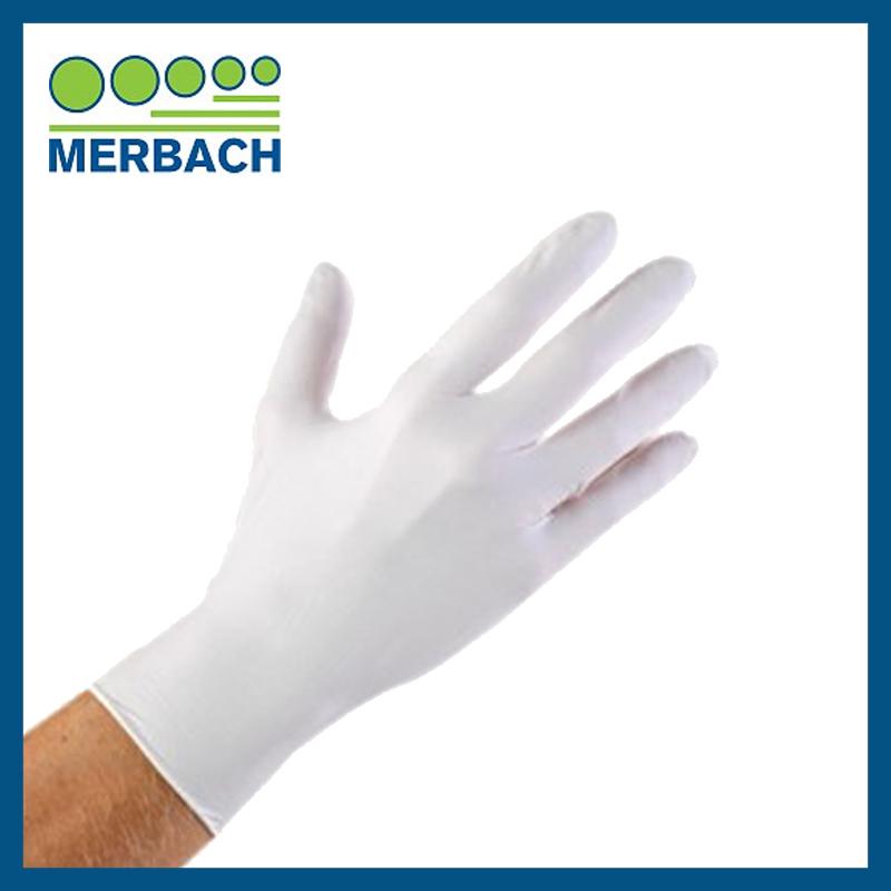 Merbach Handschoenen wit - maat M