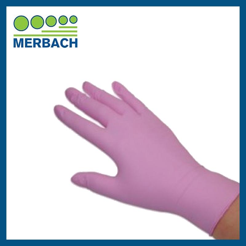 Merbach Handschoenen - Roze M 100 stuks