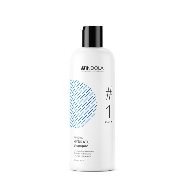 Hydrate Shampoo 300ml - indola