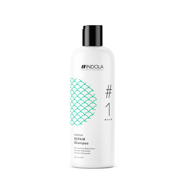Repair Shampoo 300ml - Indola