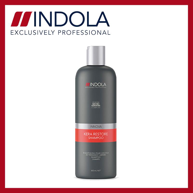 Indola Shampoo 300ml - Kera Restore