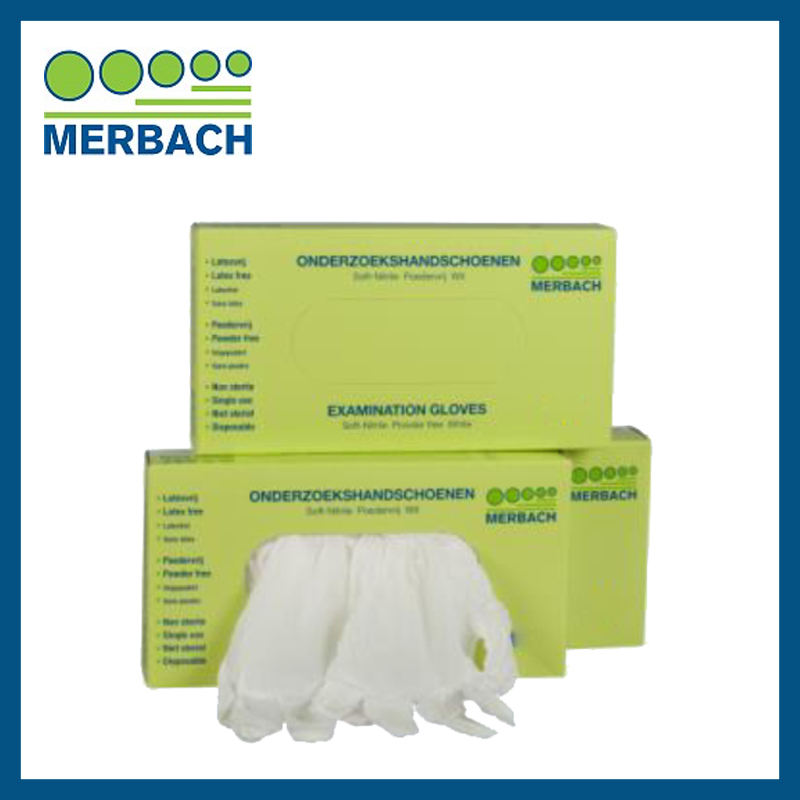 Merbach Handschoenen maat M - wit