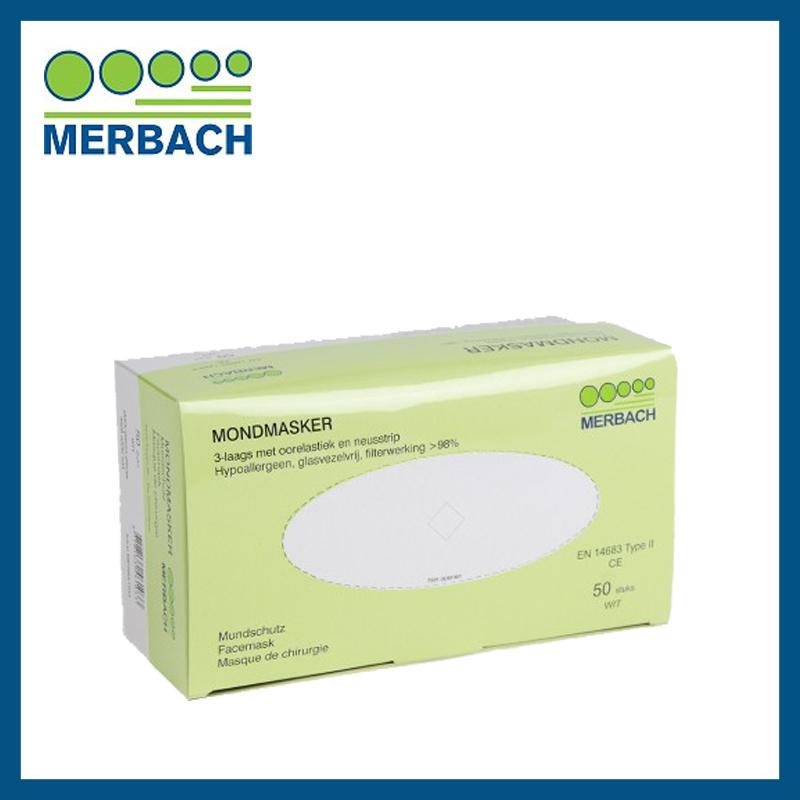 Merbach Mondmasker Wit