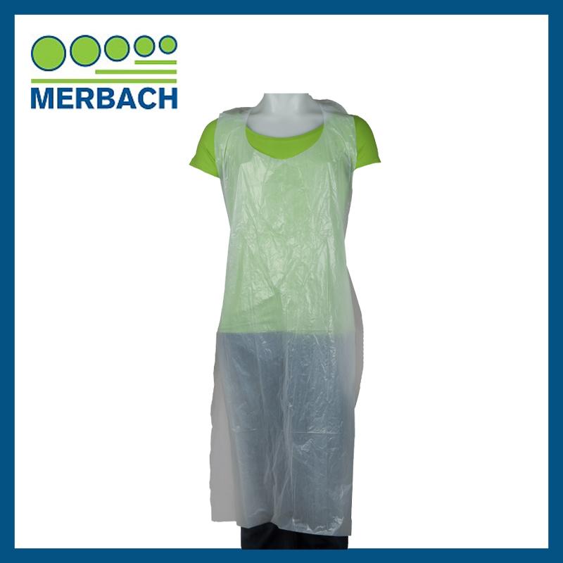 Schorten wit dispenser - Merbach