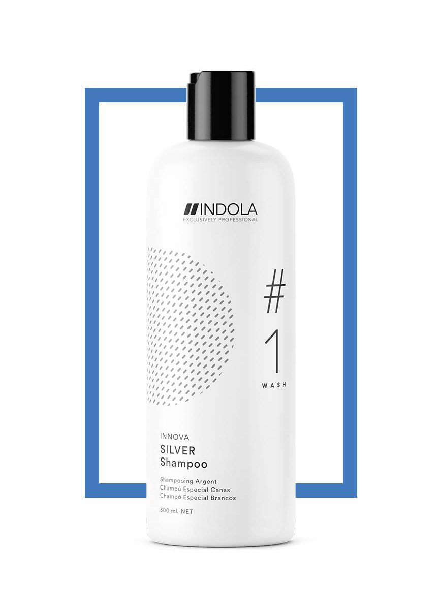 Indola Color Silver Shampoo 1500ml | Catwalk Cosmetics