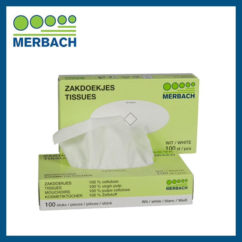 Tissues Merbach - 100 stuks