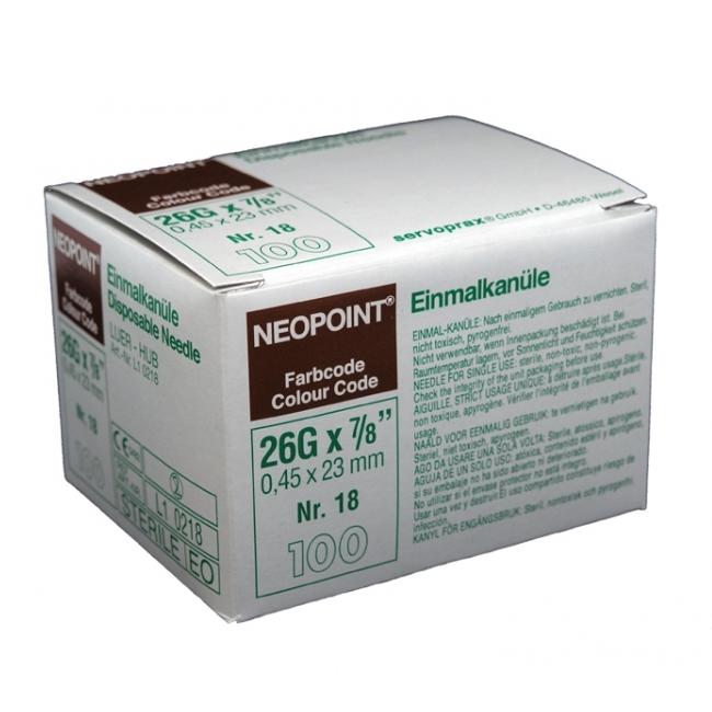 Steriele naalden nr18 - Neopoint