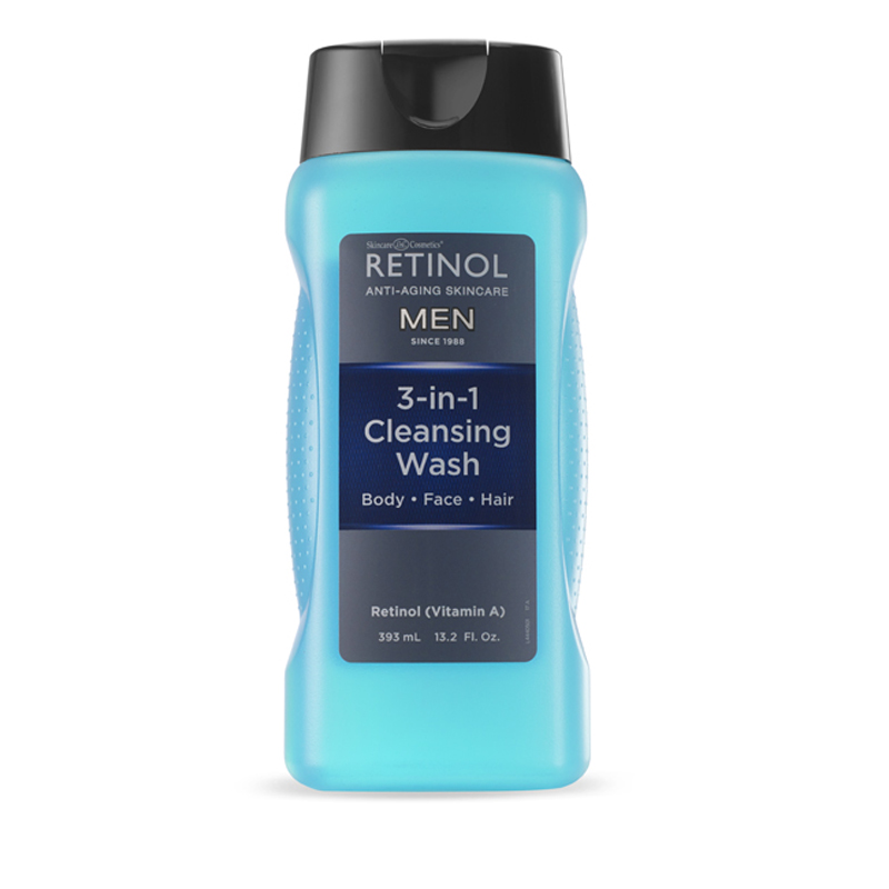 Retinol Men Cleansing Wash