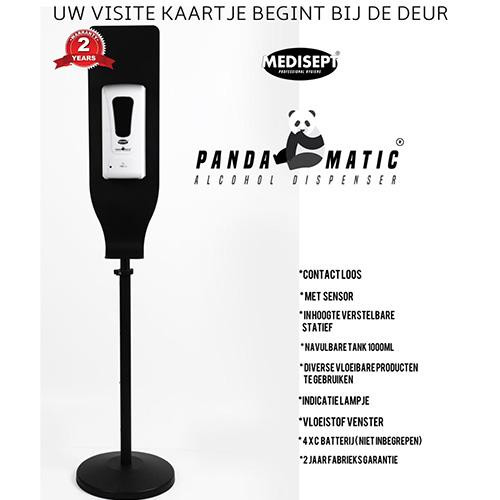 Pandamatic Vloeistof Dispencer met Sensor op Standaard-0