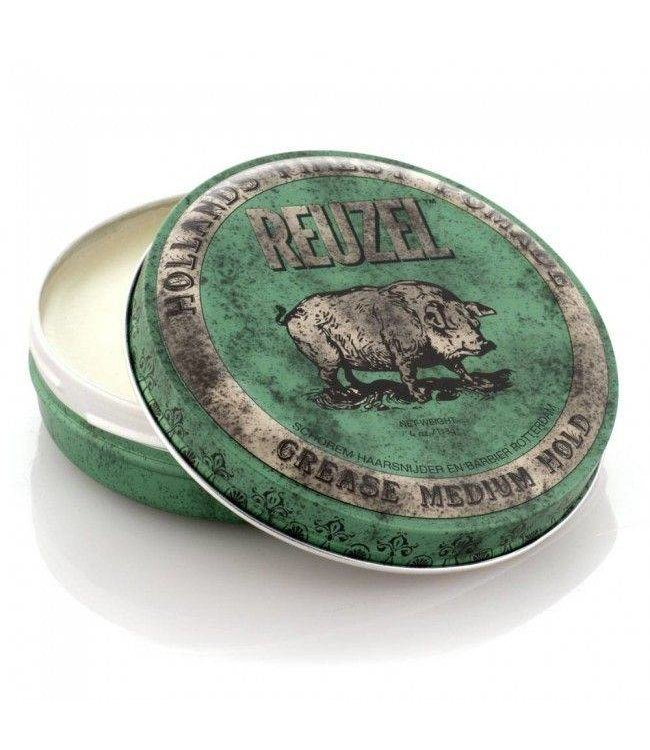 Reuzel Grease Medium Pomade (Green) 113G-0